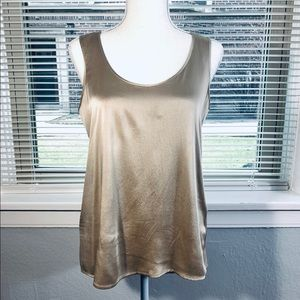 Eileen Fisher Silk Sleeveless Top